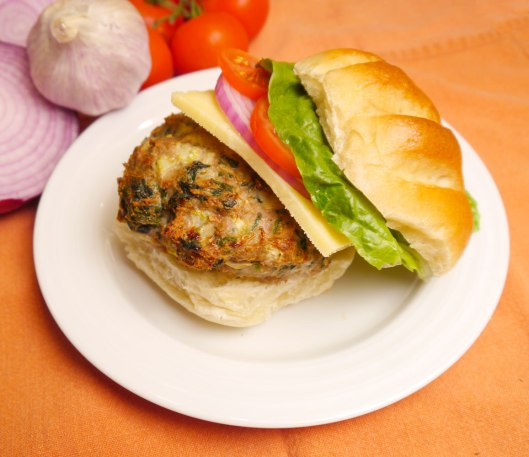 Turkey and Spinach Burgers | Cook Better Than Most Restaurants