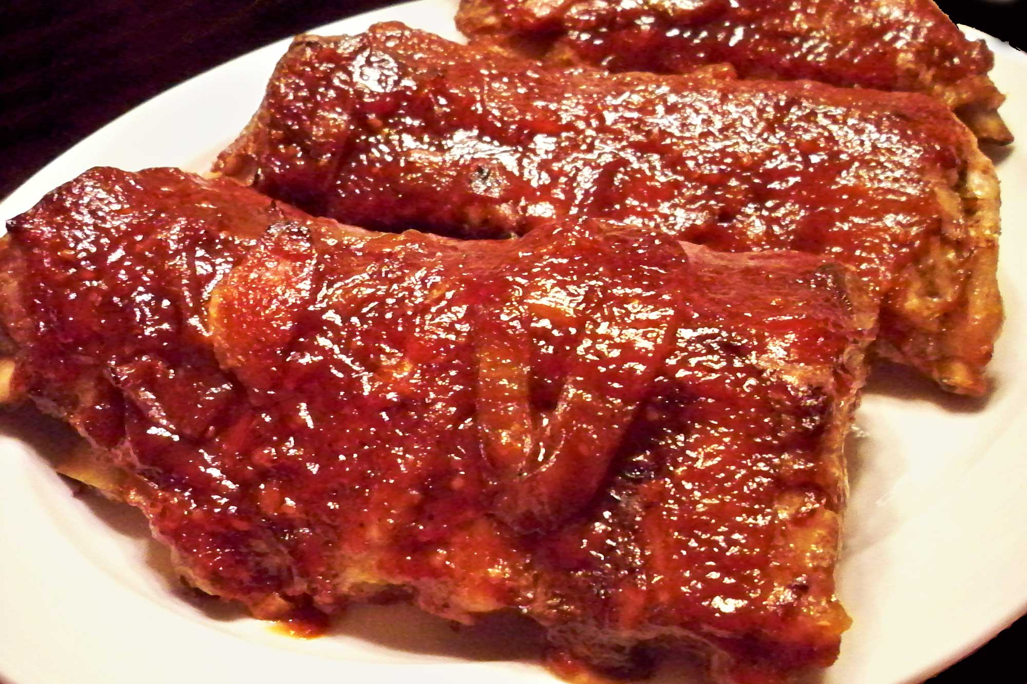 how to make ribs without bbq sauce in the oven