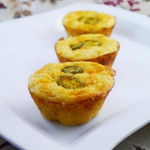 Corn bread muffins in a jiffy