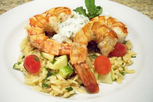 Grilled-Shrimp-dinner