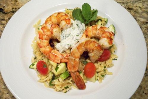 Shrimp-and-Orzo-Salad