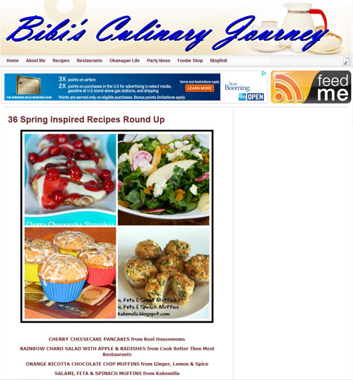 Bibi's Culinary Journey