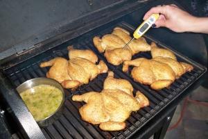Smoked Hens